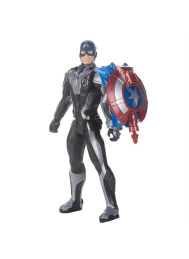 Hasbro Avengers Endgame Titan Hero Captain America Figür Renkli